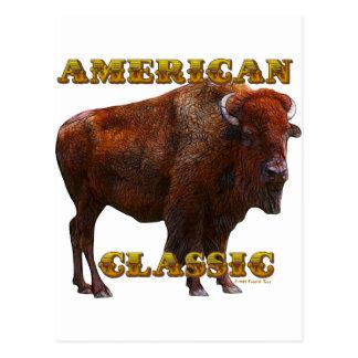 American Classic Buffalo by Fractal Tees(TM) Postcard
