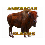 American Classic Buffalo by Fractal Tees(TM) Post Cards