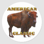 American Classic Buffalo by Fractal Tees(TM) Sticker