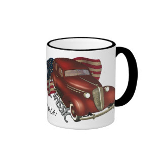 American Classic Car Coffee Mugs