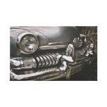 American classic cars canvas print