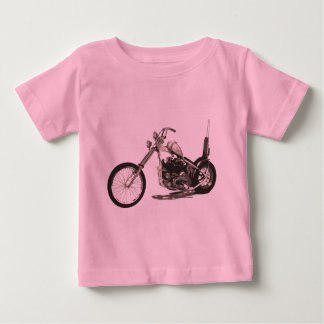 American Classic Chopper Motorcycle Baby T-Shirt