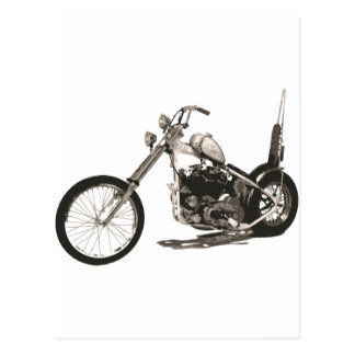 American Classic Chopper Motorcycle Postcards