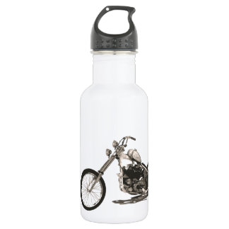 American Classic Chopper Motorcycle Stainless Steel Water Bottle