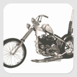 American Classic Chopper Motorcycle Sticker