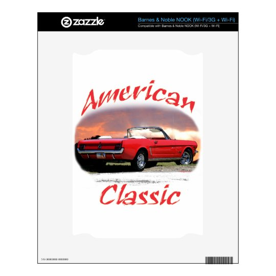 American Classic Decal For The NOOK