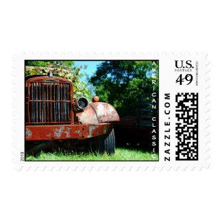 American Classic Farm Truck Postage