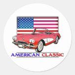 American Classic Muscle Sticker