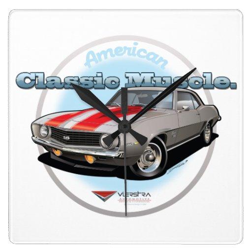 American Classic Muscle Wallclocks