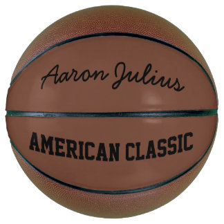 American Classic Personalized Basketball
