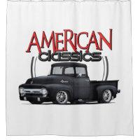 American Classics Truck Shower Curtain