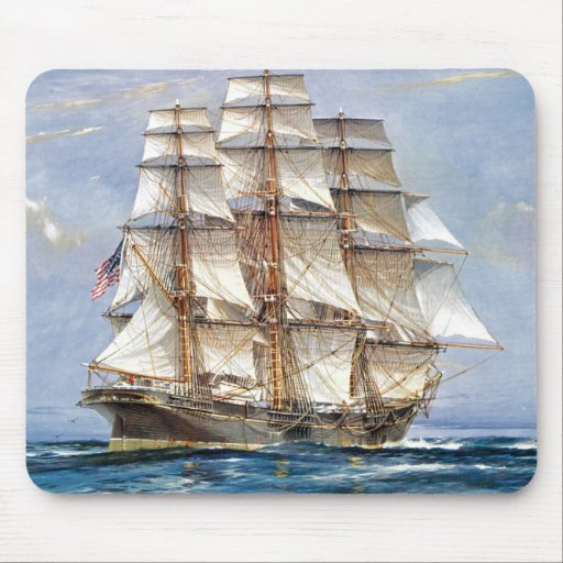 American Clipper Sovereign of the Seas Mousepad