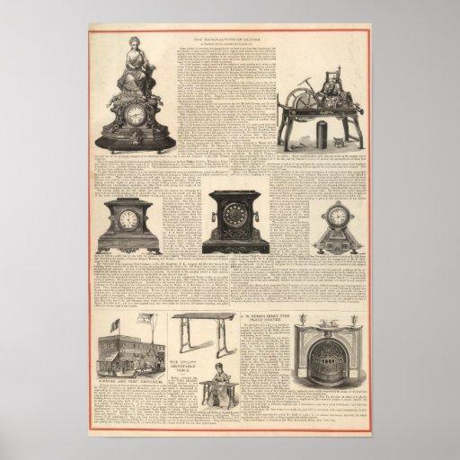 American Clock Company Impresiones