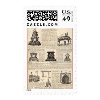 American Clock Company Postage