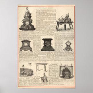 American Clock Company Poster