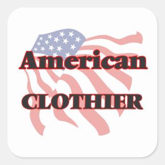 American Clothier Square Sticker