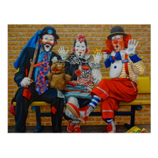 American Clown Museum & School Lake Placid Florida Postcard