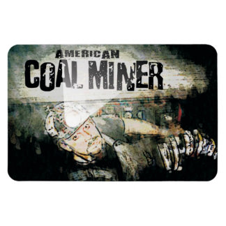 AMERICAN COAL MINER MAGNET