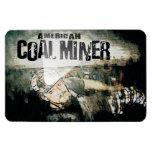 AMERICAN COAL MINER VINYL MAGNET