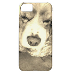 Case-Mate Barely There iPhone 5C Case with Cocker Spaniel Phone Cases design