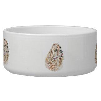 American Cocker Spaniel Bowl