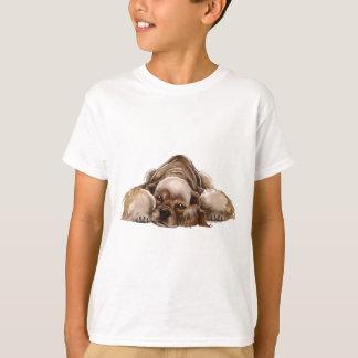 American Cocker Spaniel Buff Cocker Kids Shirt