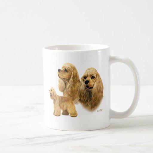 American Cocker Spaniel Classic White Coffee Mug