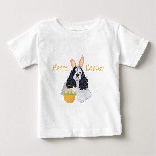 American Cocker Spaniel Easter Baby T-Shirt