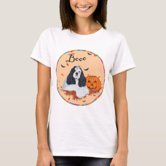 American Cocker Spaniel Halloween T-Shirt