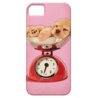 American cocker spaniel in retro kitchen scale iPhone SE/5/5s case