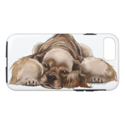 Case-Mate Barely There iPhone 7 Case with Cocker Spaniel Phone Cases design