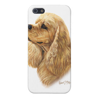 American Cocker Spaniel iPhone SE/5/5s Cover