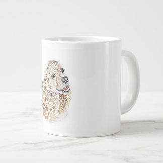 American Cocker Spaniel Large Coffee Mug