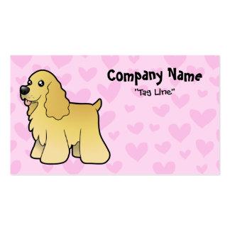 American Cocker Spaniel Love Business Card Templates