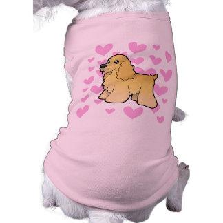 American Cocker Spaniel Love Shirt