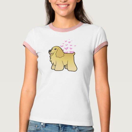 American Cocker Spaniel Love T-Shirt