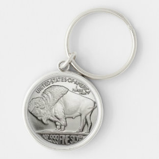 American Coin Design Keychain