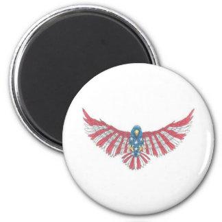 American Colors Eagle Magnet