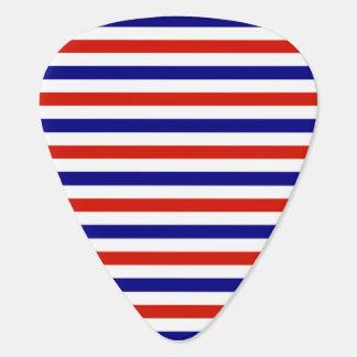 American Colors Striped Guitar Pick