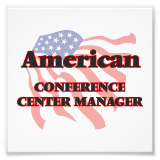 American Conference Center Manager Photo Print