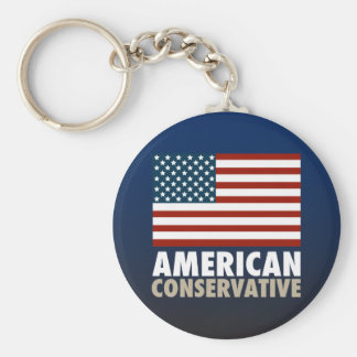 American Conservative Keychain