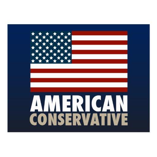 American Conservative Postcard