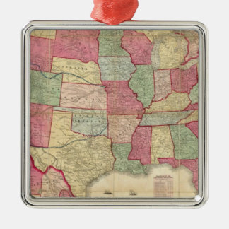American Continent United States Christmas Ornaments