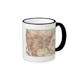 American Continent United States Ringer Mug