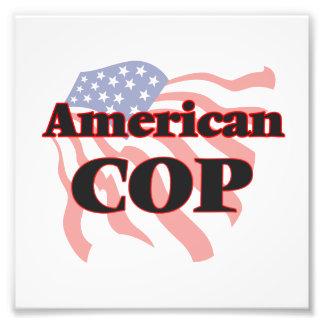 American Cop Photo Print