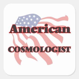 American Cosmologist Square Sticker