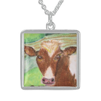American Country Cow Necklace