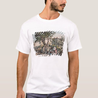 American Country Life - October Afternoon, 1855 T-Shirt