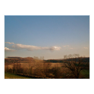 AMERICAN COUNTRY SIDE poster