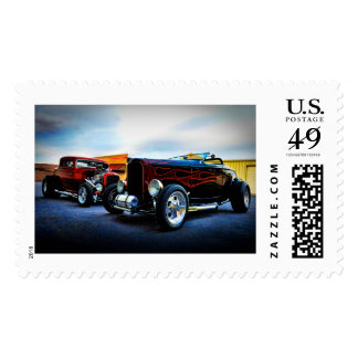 american coupe and roadster postage